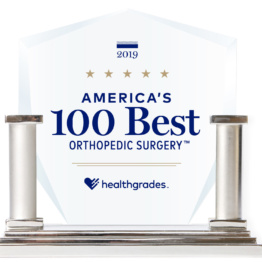 Hg Americas 100 Best Orthopedic Surgery Trophy Image 2019